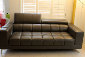 leather couch...leons