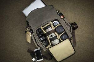Portage Kenora canvas camera backpack