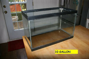 Three different Aquariums. Big and smalls. No Leaks.