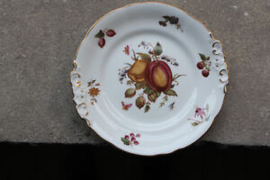 Bone china tea party serving plate