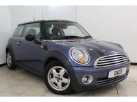 2010 10 MINI HATCH COOPER 1.6 COOPER PEPPER PACK 3DR 122 BHP