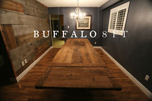 Gray Reclaimed Wood Tables with Smooth, Durable Finishing Oakville / Halton Region Toronto (GTA) image 9
