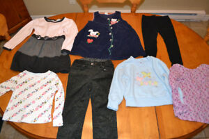 Girl Size 3 and 3x Clothing