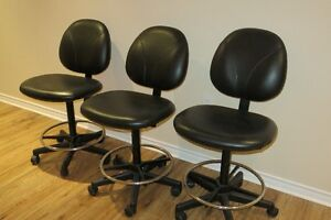 Bar stools black