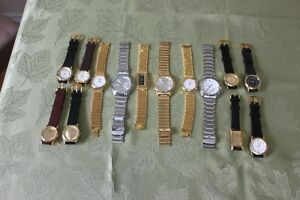 MENS  SEIKO CITIZEN AND SWISTAR WATCHS