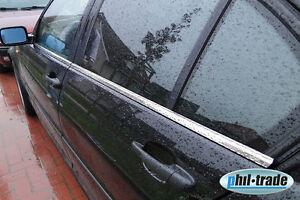 BMW 3er E46 Limo Chrom Fensterleisten aus Edelstahl 4-tlg