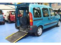 Renault Kangoo Wheelchair car disabled accessible vehicle 1.2cc mobility van