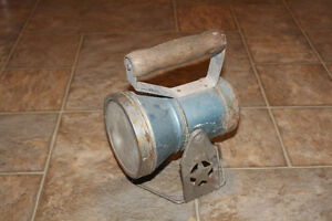 Antique Star Headlight Co. RAILROAD LANTERN - Original