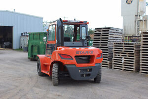 22,000 lb. Diesel Forklift with Cab
