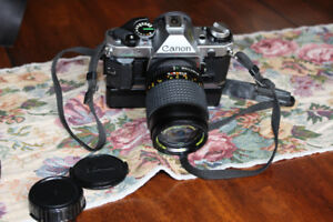 Vintage  Canon Camera and lenses