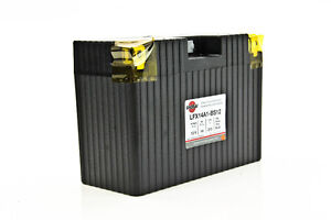 LITHIUM SHORAI BATTERY FOR MOTORCYCLES AND ATVS LFX14A1-BS12