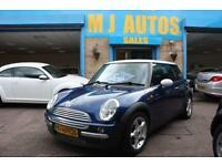 2002 52 MINI HATCH COOPER 1.6 COOPER HALF LEATHER PANORAMIC ROOF