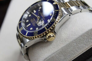 Submariner Two Tone Blue Gold (Brand New)