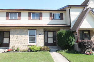 Well kept 3 bedroom, 1.5 bathroom townhome in the North End