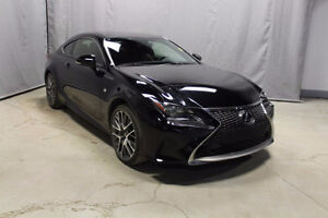 2015 LEXUS RC350 sport coupe  AWD.....YOU,RE APPROVED