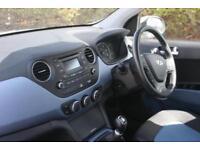 2014 Hyundai i10 1.0 Premium Petrol white Manual
