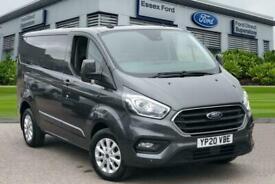2020 Ford Transit Custom 2.0 EcoBlue 170ps Low Roof Limited Van Auto Panel Van D