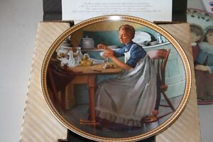 Norman Rockwell collector plates fromThe Re-discovering Women