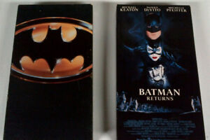 1st 4 Batman Movies - VHS - all 4 together for $5.00