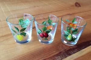 3 verres (Fabriqués en France)