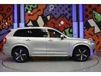 2016 VOLVO XC90 2.0D5 R-DESIGN AWD GEARTRONIC SILVER