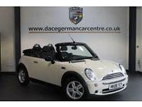 2008 08 MINI CONVERTIBLE 1.6 ONE PEPPER PACK 2DR 89 BHP