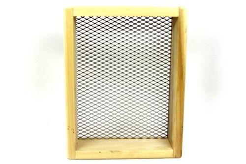 Standard Wood Dirt Sifter - Diamond Trapping Supplies Screen Sift