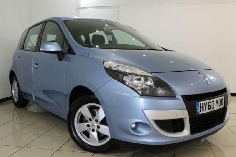 2010 60 RENAULT SCENIC 1.5 DYNAMIQUE TOMTOM DCI 5DR 105 BHP DIESEL