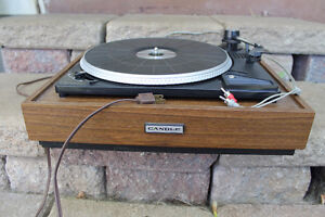 Candle record player turntable for repair or parts