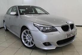 2008 57 BMW 5 SERIES 2.0 520D M SPORT 4DR 175 BHP DIESEL