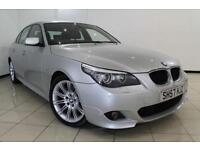 2007 57 BMW 5 SERIES 2.0 520D M SPORT 4DR 175 BHP DIESEL