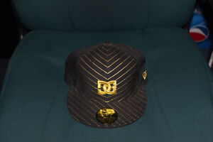 DC 59 fifty hat black and gold never worn!