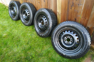 Goodyear - Nordic Winter Tires and Rims. 215/65/17