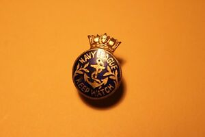 1900's Navy League Keep Watch Lapel Pin  (VIEW OTHER ADS)