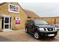 2015 NISSAN NAVARA DCI 190 ACENTA 4X4 DOUBLE CAB WITH TRUCKMAN TOP PICK UP DIESE