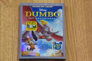 Used DUMBO 70th ANNIVERSARY EDITION Blu-ray &DVD Combo Pack