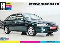 2002 Honda Accord 2.3 i Type V 5dr Hatchback Petrol Automatic