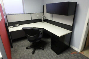 Office Cubicles and Work Stations-Used-Refurbished. We also Buy!