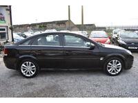 Vauxhall Vectra 1.8i VVT ( 140ps ) 2007.5MY SRi 5 DOOR BLACK+STUNNING