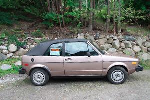 1983 VW Convertible