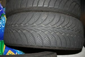"5-GOODYEAR ULTRA GRIP-245-60-R18""-85% TREAD REMAINING."