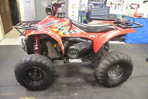 2002 Polaris 500 Scrambler ATV 4 Wheeler