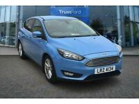 2016 Ford Focus 1.5 TDCi 120 Zetec 5dr- Touch Screen, Bluetooth, Voice Control,