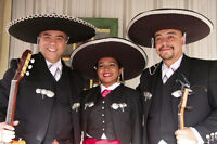 Authentic Mexican mariachi band