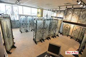 Wrought Iron & Stained Glass Showroom