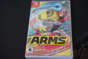 Arms for Nintendo Switch - Brand new, sealed.