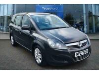 2013 Vauxhall Zafira 1.6i [115] Exclusiv Nav 5dr - FRONT+REAR PARKING SENSORS, T