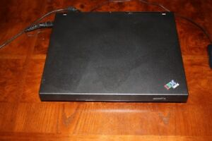 IBM Think Pad Laptop wih Carrying Case