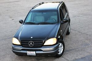 1998-MERCEDES-ML-320-LOW-MILES-4WD-ONE-OWNER-NO-RESERVE