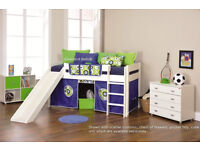 Stompa Play 3 - slide + cabin bed